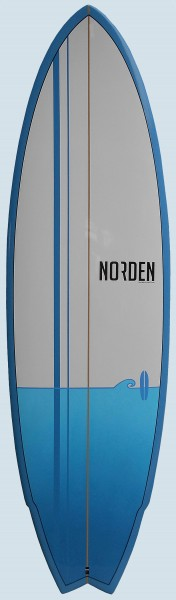Norden First Ride Fish (blue)