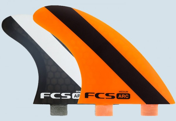 FCS ARC PC Medium Tri Quad Fin Set
