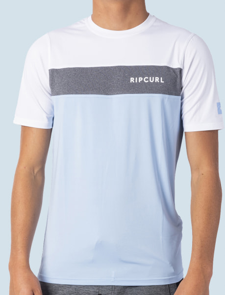 Rip Curl Underline S/S UV Tee (blue)