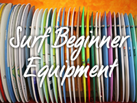 Surf Beginner Equipment