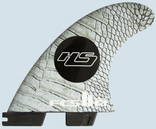 FCS II HS PC Carbon Medium Tri Fin Set