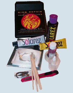 Solarez Pro Travel Kit Polyester