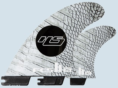 FCS II HS PC Carbon Medium Tri Quad Fin Set