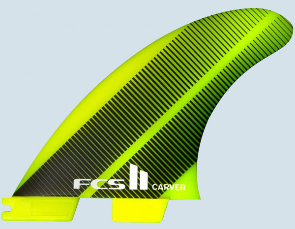 FCS II Carver Neo Glass Large Tri Quad Fin Set
