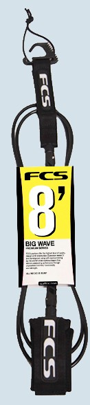 FCS Big Wave Leash 8ft