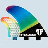 FCS M.R TFX PC Carbon Fluro Tri Fin Set