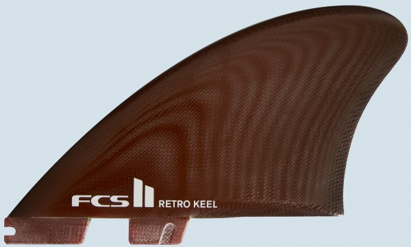 FCS II Retro Keel PG Twin Fin Set
