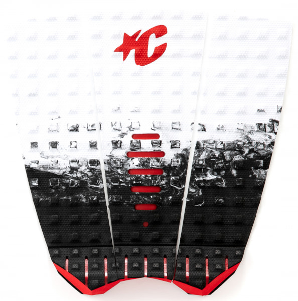 Creatures of Leisure Mick Fanning Lite Pad (white fade red)