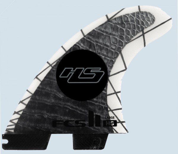 FCS II HS PC Carbon Large Tri Fin Set