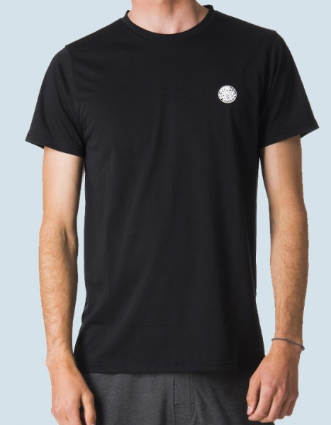 Rip Curl Search Surflite S/S UV Shirt (black)