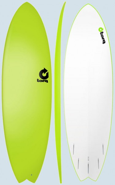 Torq Soft Deck Fish (Green)