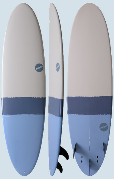 NSP Elements-HDT Funboard (sky blue)