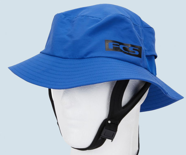 FCS Essential Surf Bucket Hat (Heather Blue)