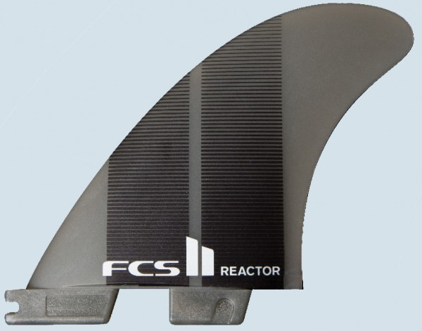 FCS II Reactor Neo Glass Medium Tri Fin Set