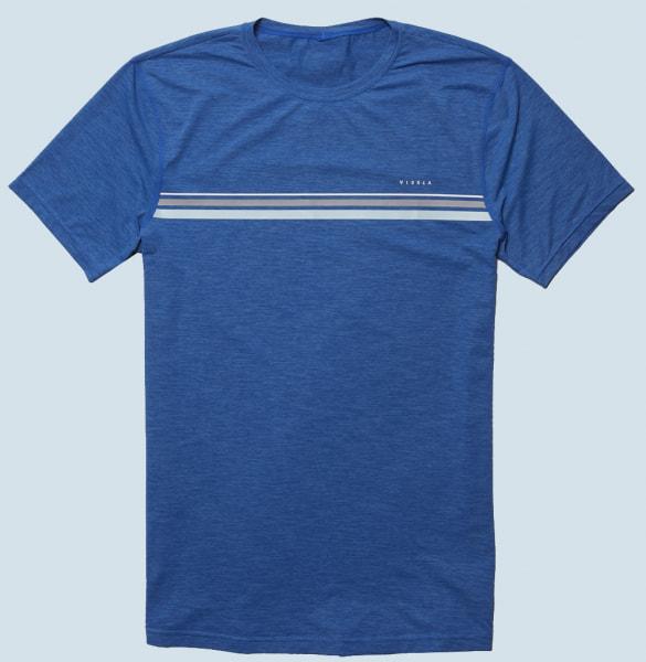 Vissla The Trip S/S Surf Shirt (royal heather)
