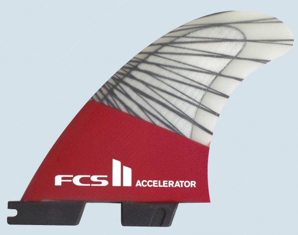 FCS II Accelerator PC Carbon Medium Tri Fin Set