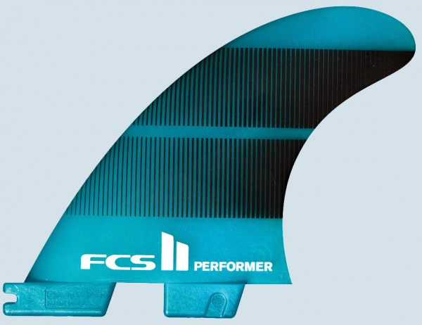 FCS II Performer Neo Glass Medium Quad Fin Set