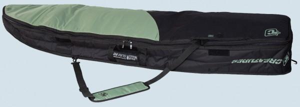 Creatures of Leisure Retro Fish Double Boardbag (black/slate)