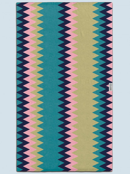 Leus Caravan Large Beach Towel