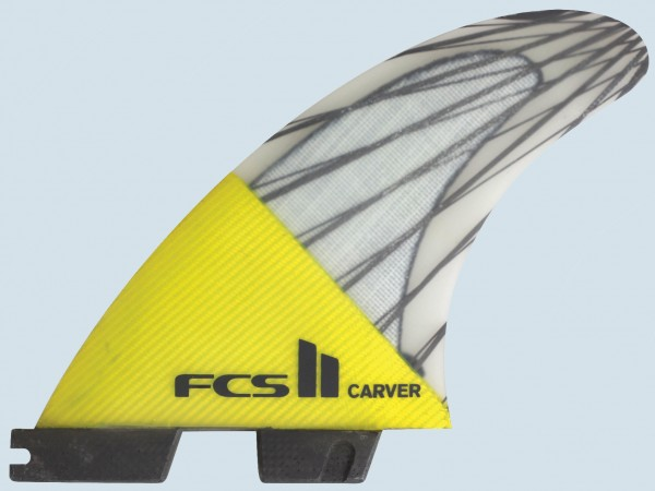 FCS II Carver PC Carbon Tri Fin Set