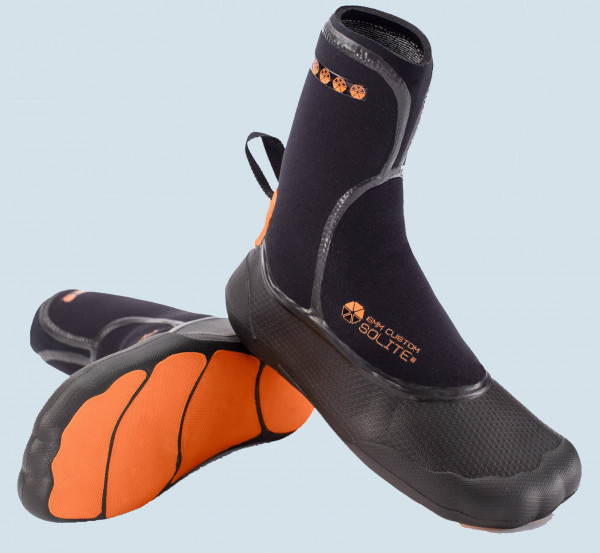 Solite Custom 5mm ST Boot (black/orange)