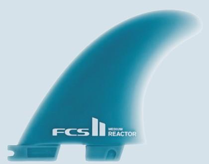 FCS II Reactor Glass Flex Medium Tri Fin Set