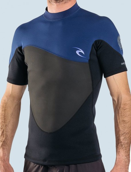 Rip Curl Omega 1.5mm S/S Jacket (navy)