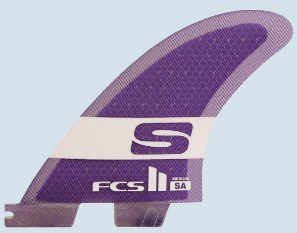 FCS II SA PC Medium Tri Fin Set