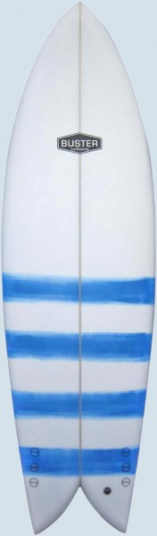 Buster Retro Fish 6'4'' PU Polyester