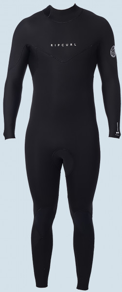Rip Curl Dawn Patrol Back Zip 5/3 (black)