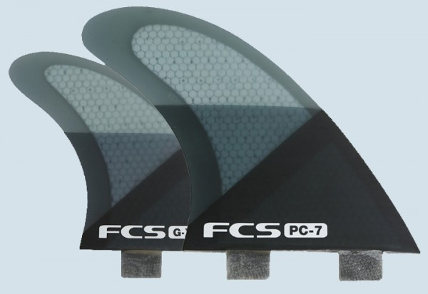 FCS Q-PC7 Quad Fin Set