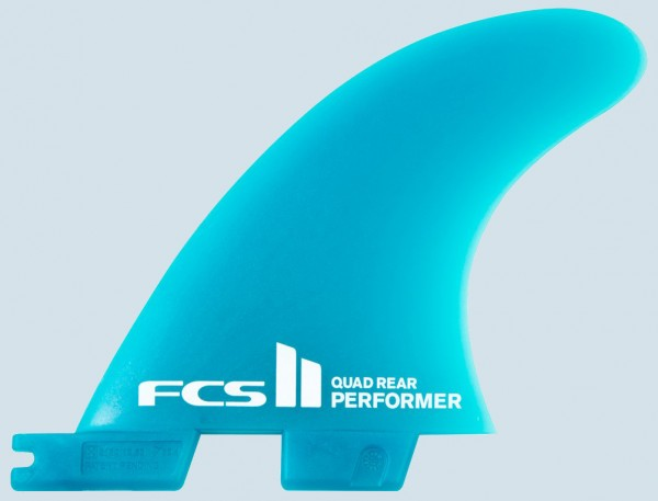 FCS II Performer Neo Glass Quad Rear Fin Set