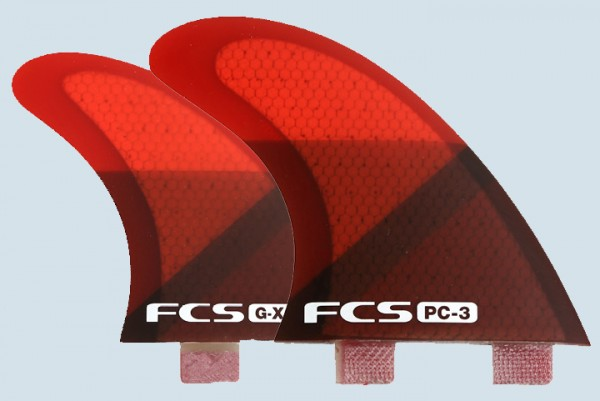 FCS Q-PC3 Quad Fin Set