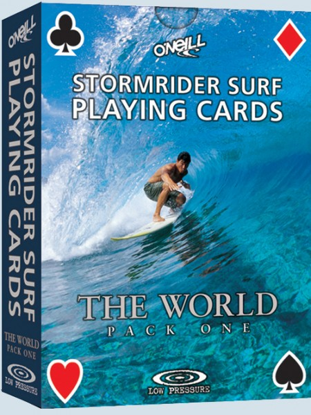 Stormrider Surf Play Cards